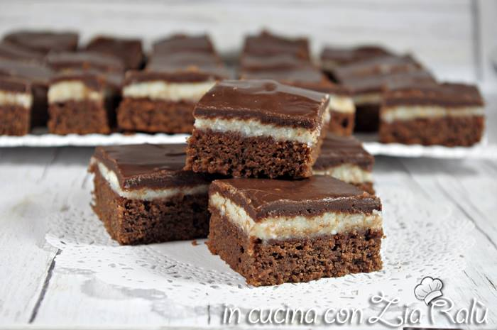brownies mascarpone e cioccolato