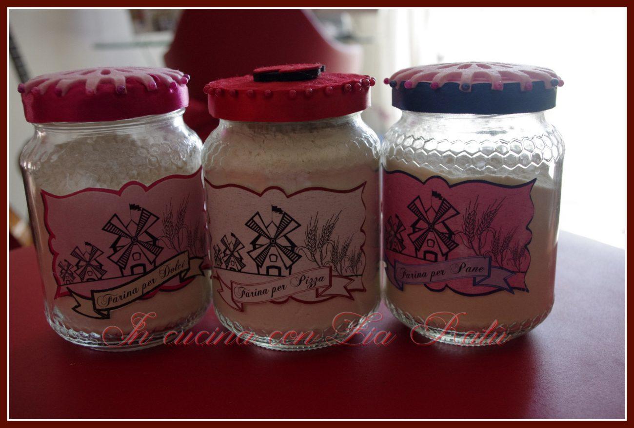 Contenitori Vetro Per Conserve vasetti di vetro decorati - in cucina con zia ralù