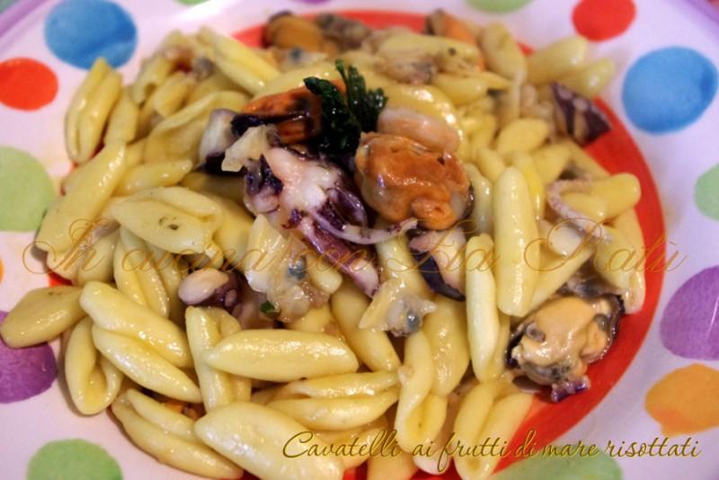 cavatelli ai frutti di mare con cognak e no zafferano (4)