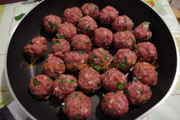 polpette di carne filanti