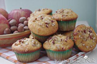 Muffins mela e nocciole