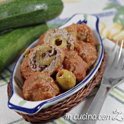 Polpette carne zucchine