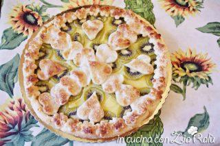 Crostata crema kiwi e pasta sfoglia