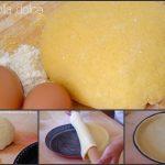 Pasta frolla dolce - senza riposo