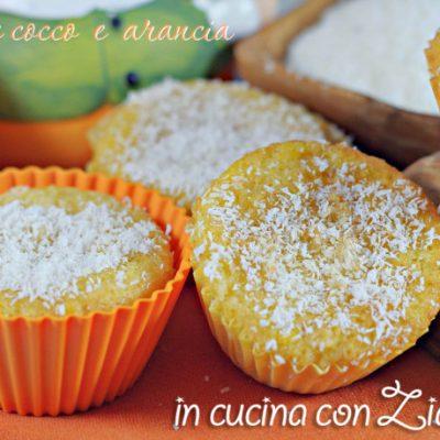 tortine cocco e arancia