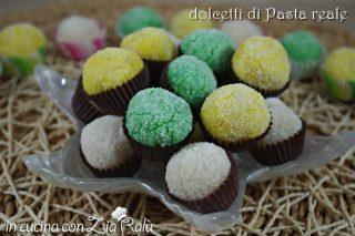 Pasta reale pugliese – palline colorate