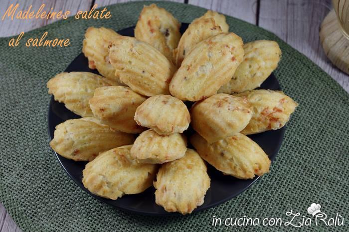 madeleines salate al salmone