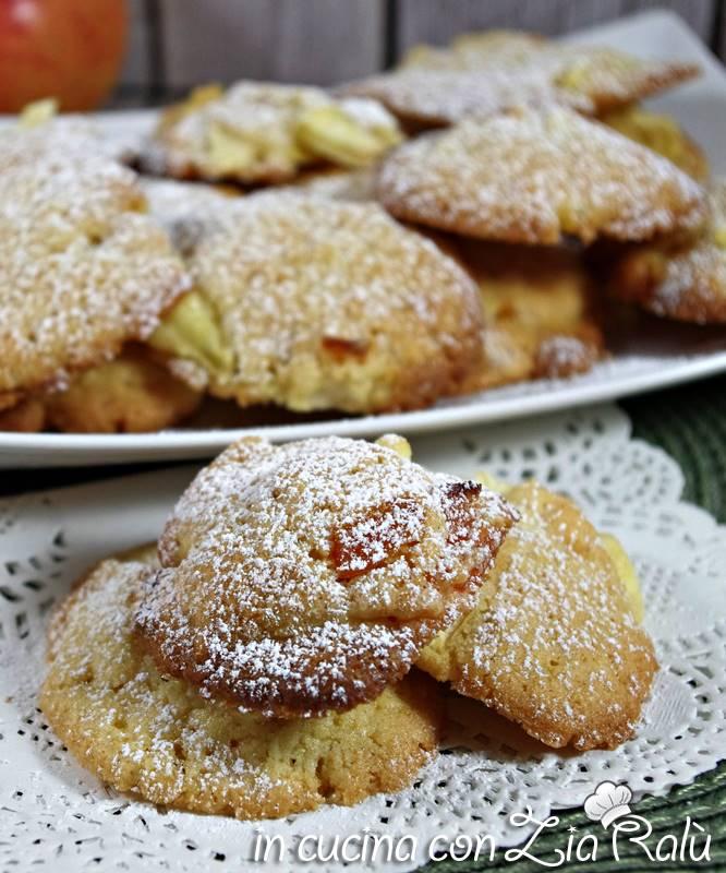 biscotti mele e albicocche