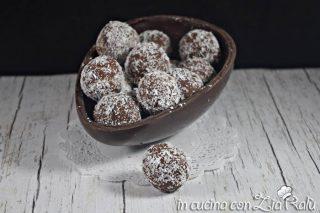 Palline al cioccolato – senza uova senza burro