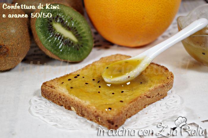 confettura kiwi e arance