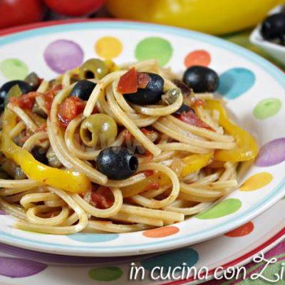 Spaghetti alla siracusana a modo mio