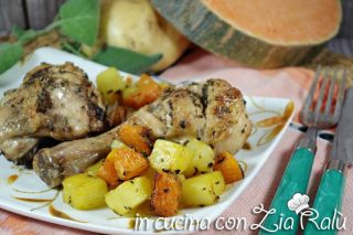 Sovracosce di pollo al forno saporite