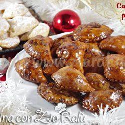 Calzoncelli pugliesi - fritti al vincotto con mandorle
