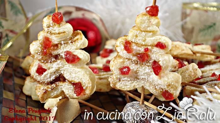 palberelli dolci con le ciliegie candite