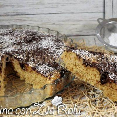 Torta pane e cioccolato senza burro