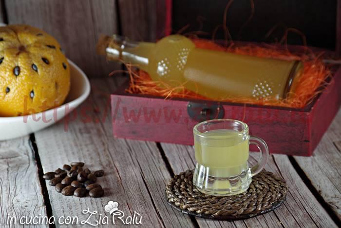 Liquore arancia e caffè - liquore 44