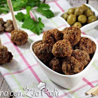 Polpette di carne fritte - gustoso finger food