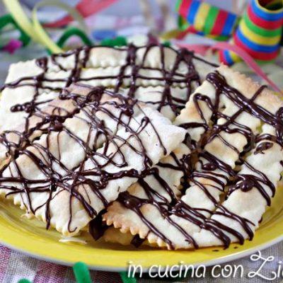 frappe al forno al cioccolato fondente - con stevia