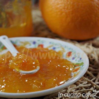 Marmellata di arance - ricetta veloce
