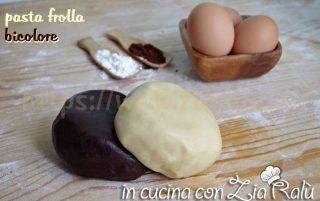 Pasta frolla bicolore – ricetta base