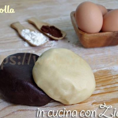 Pasta frolla bicolore - ricetta base