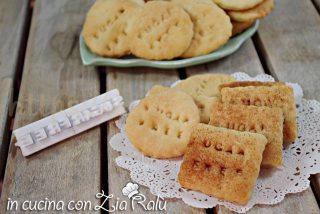 Biscotti senza uova e  zucchero – i sanzionisti
