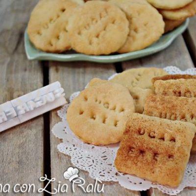 Biscotti senza uova e  zucchero - i sanzionisti