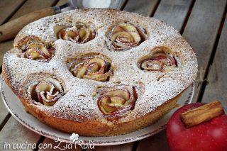 torta alle mele cannella e zenzero
