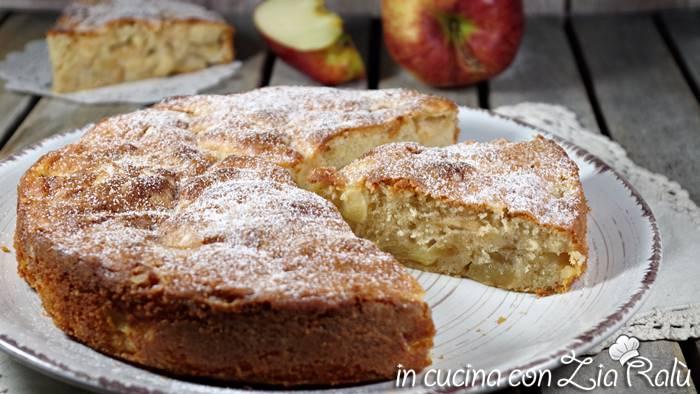 Torta di mele rustica - senza lievito