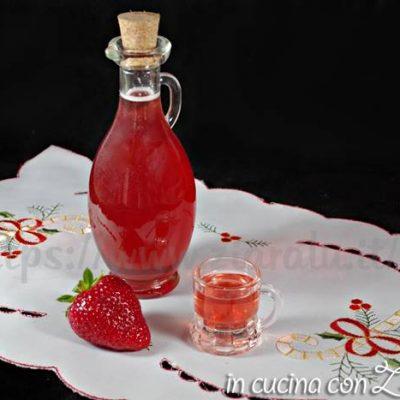 Liquore alle fragole - ricetta facile