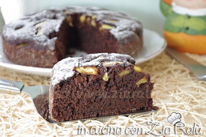 Torta Senza Uova Al Cioccolato.Torta Al Cacao Senza Uova E Lattosio