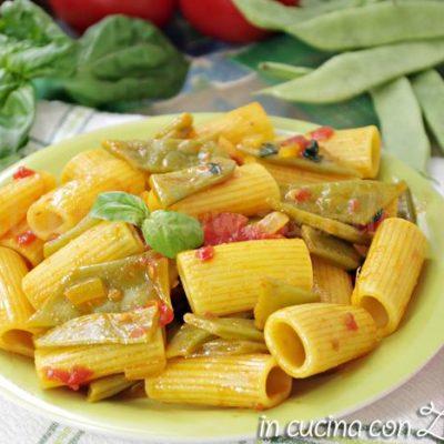 Pasta ai piattoni e zafferano - ricetta facile