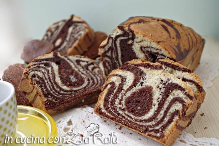 Plumcake zebrato al cacao soffice e goloso