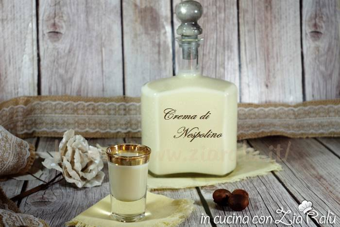 Crema di nespolino - liquore profumato