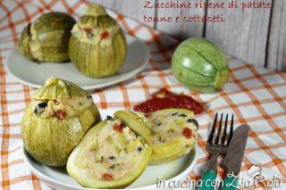 Zucchine ripiene fredde – ricetta estiva