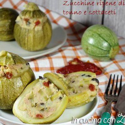 Zucchine ripiene fredde - ricetta estiva