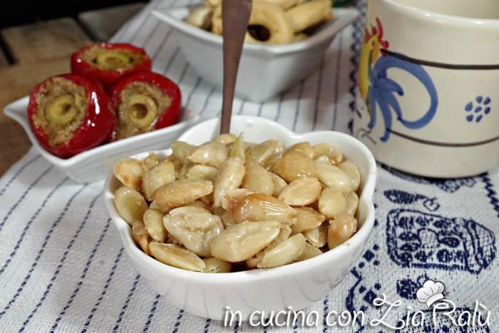 Mandorle tostate salate – antipasto sfizioso
