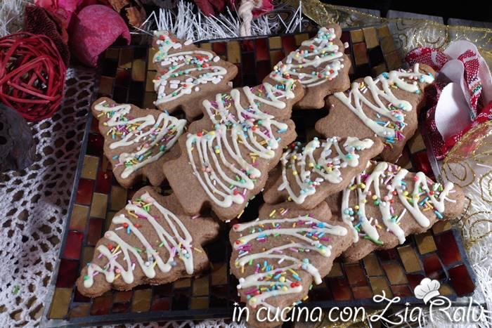 biscotti natalizi al cacao