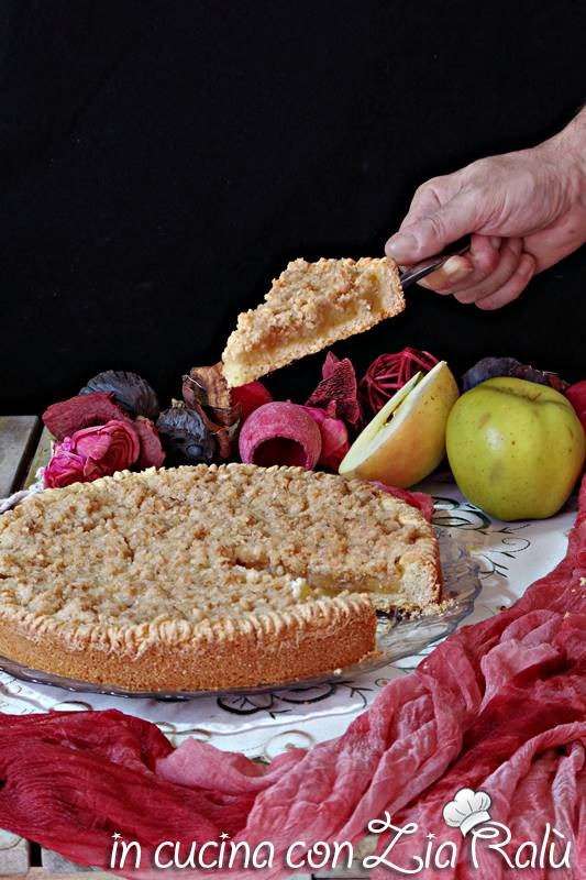 sbriciolona alle mele senza glutine
