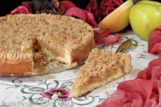 Sbriciolona alle mele senza glutine e lattosio