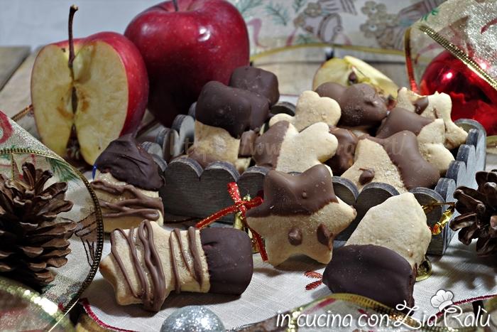 biscotti natalizi alla mela