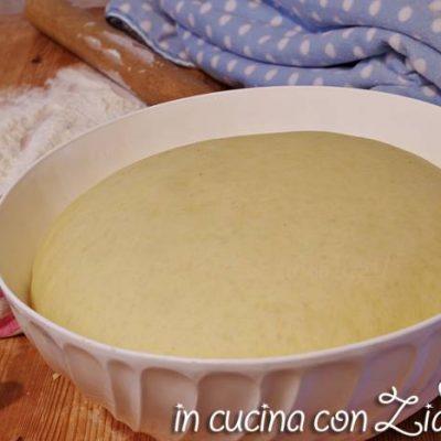 Pasta brioche alle patate - ricetta base