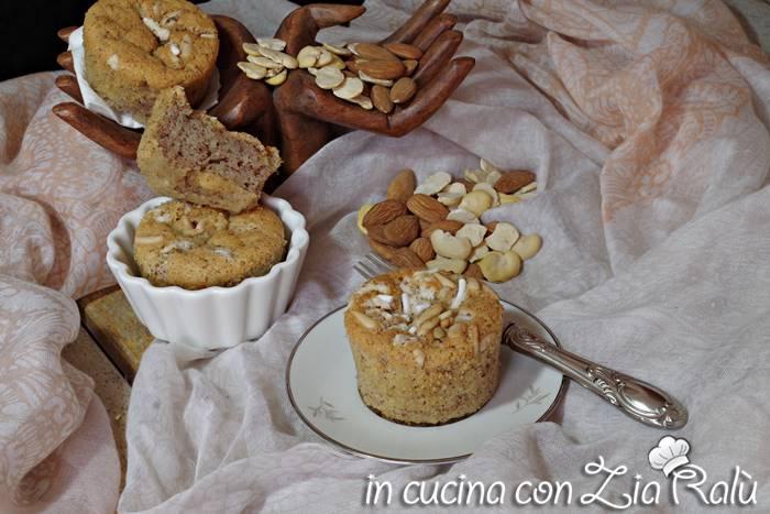 Muffins senza glutine - con purea di fave