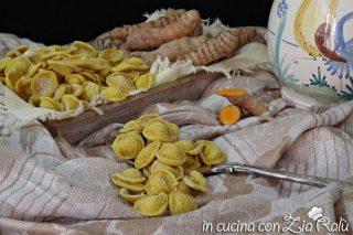 Orecchiette alla curcuma – giallo intenso