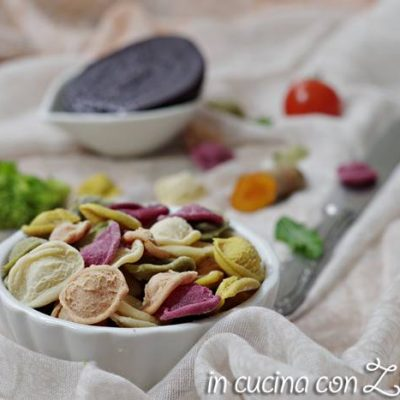 Orecchiette colorate -  come prepararle
