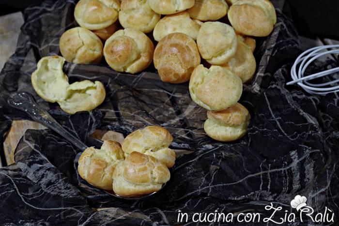 Bignè – ricetta di Igino Massari