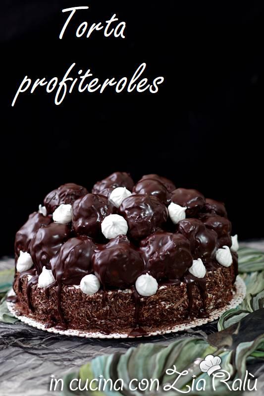 torta profiteroles