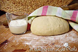 Pasta brioche allo yogurt senza burro