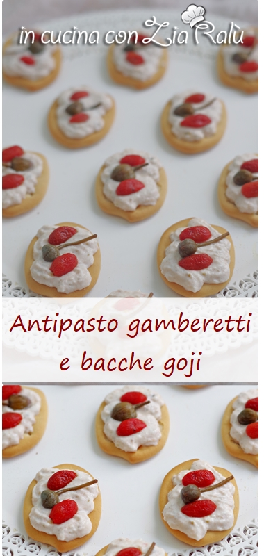 tartine gamberetti e capperi light