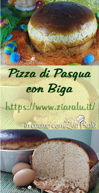 Pizza di pasqua laziale con biga